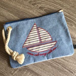 Cute beach bikini bag ~ NEW